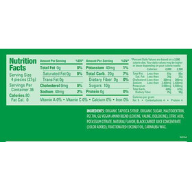 GU Energy Chews Testpaket 4 Sorten 5 x 54g